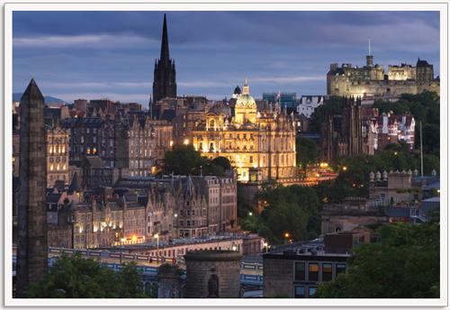 edinburgh scotland great for property investments