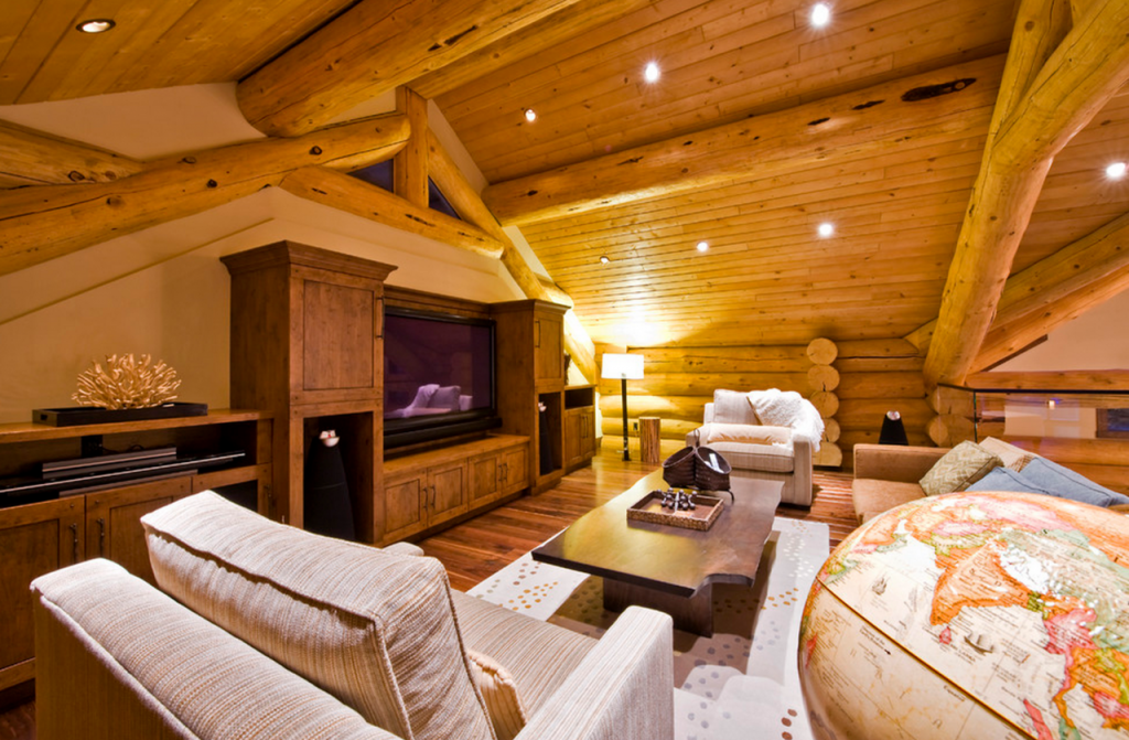 Highland lodges loch ness scotland united kingdom for Log home interior designs